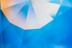 Crystal refractions background Royalty Free Stock Photos