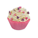 Cup cake decorated Royalty Free Stock Image