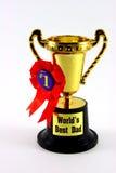 cup dad trophy Royaltyfria Foton