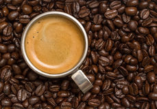Cup of espresso Stock Images