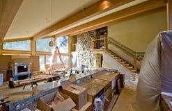Custom Home Remodeling Stock Photo