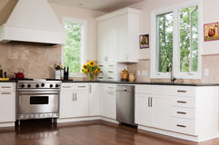 Custom Kitchen Royalty Free Stock Images