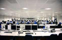 Customer Support Centre Royalty Free Stock Photography
