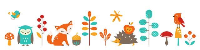 Cute autumn Stock Images