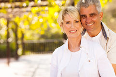Cute mid age couple Royalty Free Stock Photography