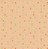 Cute seamless pattern with colorful squares vector Royalty Free Stock Photo