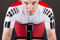 Cyclist on a bicycle Stock Photography