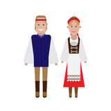 Czech national costume Royalty Free Stock Photography