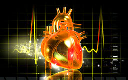 3D heart Stock Photography