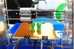 3d print Royalty Free Stock Photography