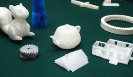 3D Printer - Print model Stock Photo