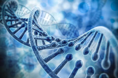 3d render of dna structure Stock Photo