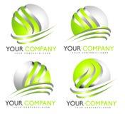 3D Sphere Logo Royalty Free Stock Photo