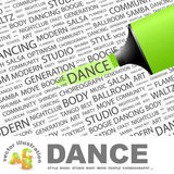 DANCE. Royalty Free Stock Image