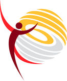 Dance logo Stock Images