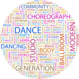 DANCE. Royalty Free Stock Images