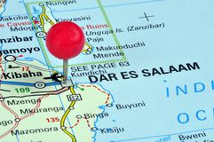 Dar Es Salaam Royalty Free Stock Photography