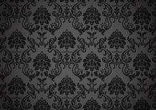 Dark baroque wallpaper Stock Photography