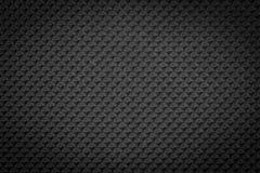 Dark black regular plastic texture Stock Photo