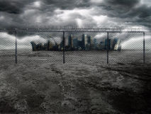 Dark City 2 Royalty Free Stock Photography