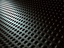 Dark Silver Metal Shiny Background. Industrial Futuristic Royalty Free Stock Images
