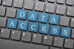 Data access Royalty Free Stock Photography
