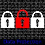Data Protection Royalty Free Stock Photos