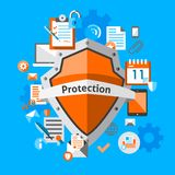 Data protection concept Royalty Free Stock Image
