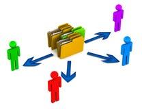 Data share Stock Photography