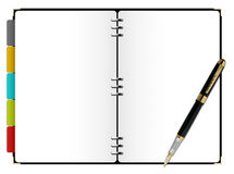 Day planner Royalty Free Stock Photography