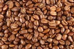 De Achtergrond van de Bonen van de koffie Royalty-vrije Stock Foto