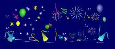 De Achtergrond van de viering. Stock Afbeelding