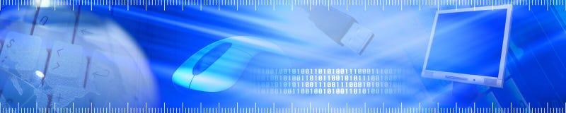 De banner van de technologie. Royalty-vrije Stock Afbeeldingen