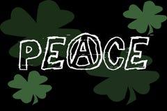 De Banner van de vrede Royalty-vrije Stock Foto