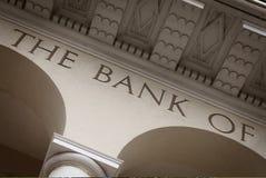 De Bouw van de bank Royalty-vrije Stock Afbeelding