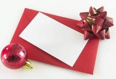 De brief van Kerstmis Royalty-vrije Stock Fotografie