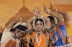 De dansers van India Royalty-vrije Stock Afbeeldingen
