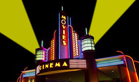 De films, Film, Bioskoop, Bioscoop Royalty-vrije Stock Fotografie