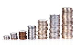 De groei van het geld Stock Fotografie