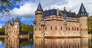 De Haar castle, Holland Royalty Free Stock Photography