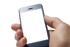 De Hand van de Telefoon van de cel Stock Afbeelding