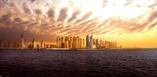 De Horizon van Doubai Royalty-vrije Stock Fotografie