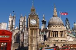 De Horizon van Londen Stock Fotografie