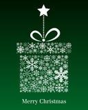 De Kaart van de Groet van de Gift van Kerstmis Royalty-vrije Stock Afbeeldingen