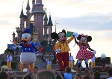De karakters van Disney Stock Fotografie