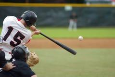 De Klap van het honkbal! Royalty-vrije Stock Foto