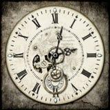 De klok van Steampunk Stock Afbeelding