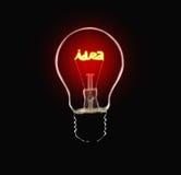 De Lamp van het idee Stock Afbeelding