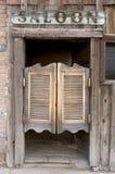 De oude Westelijke Slingerende Deuren van de Zaal Royalty-vrije Stock Afbeelding