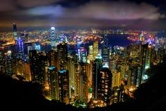 De PiekTram van Hongkong Stock Foto's
